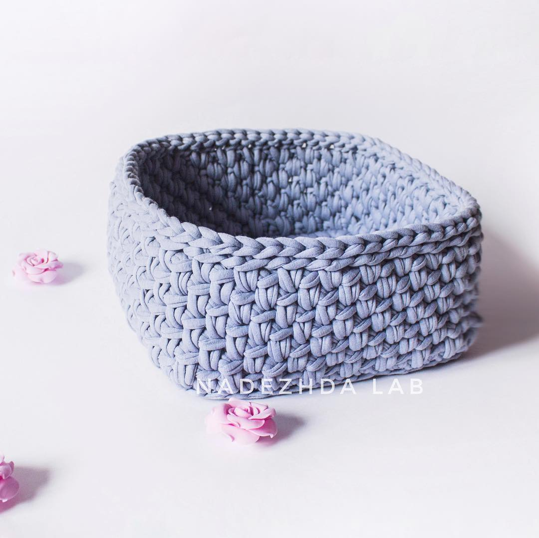 single-crochet-basket-pattern