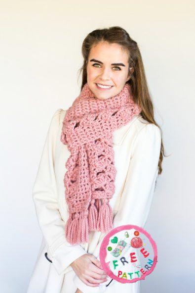 pink-lemonade-scarf-free-crochet-pattern-2020