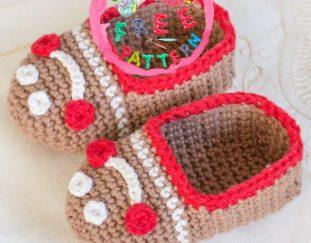 gingerbread-baby-booties-free-crochet-pattern-2020