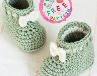 mint-macaroon-baby-booties-free-pattern