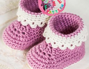 pink-lady-baby-bootie-free-pattern