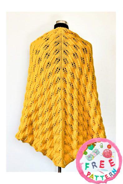 sunflower-swirls-shawl-free-knitting-pattern-2020