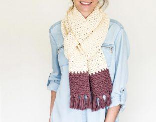 tassseled-chunky-scarf-free-crochet-pattern