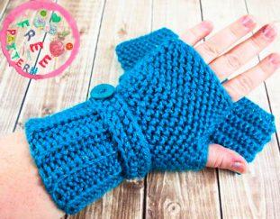herringbone-crochet-fingerless-gloves-free-pattern
