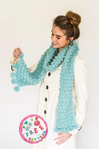 snowbird-pom-pom-scarf-free-crochet-pattern-2020