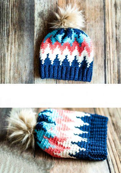 crochet-chevron-hat-free-crochet-pattern-2020