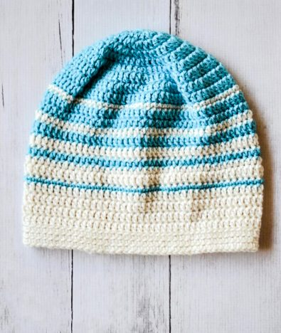 womens-faded-stripes-slouchy-hat-free-crochet-pattern
