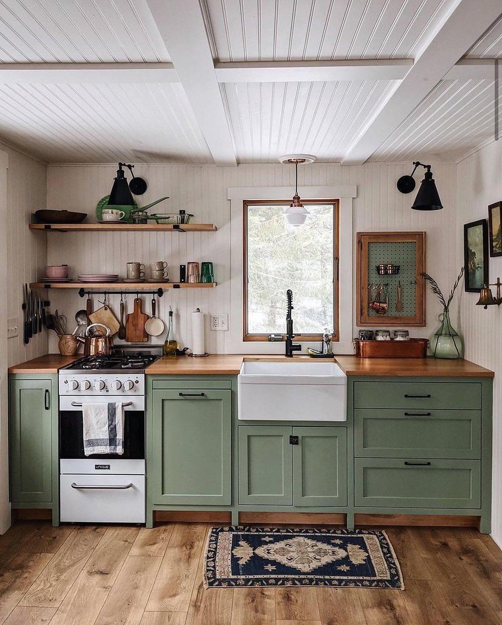 Single Wall Mounted Kitchen